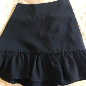 Elizabeth and James ruffled mini skirt